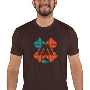 mens mtb rom-x espresso t-shirt