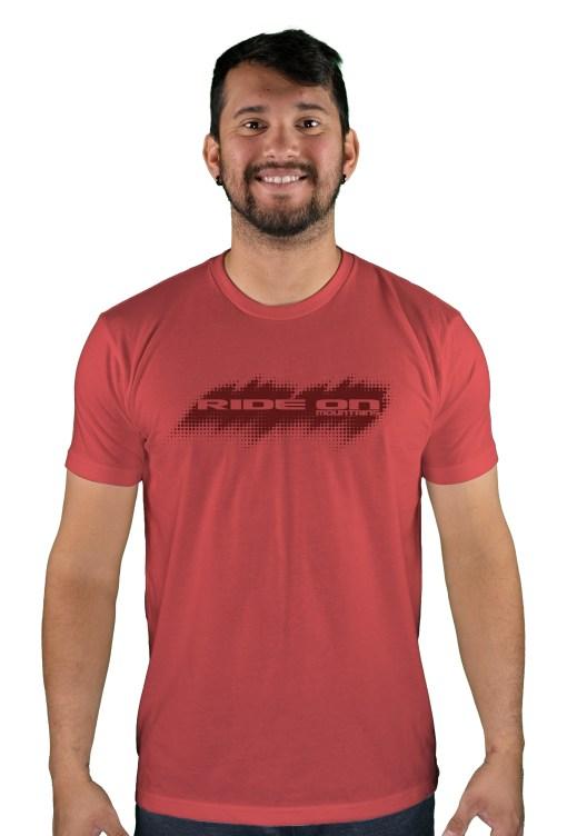 mens mtb tire tread cardinal t-shirt