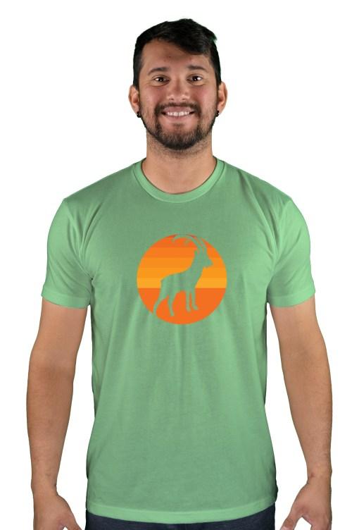 mens mtb tizi og apple green t-shirt