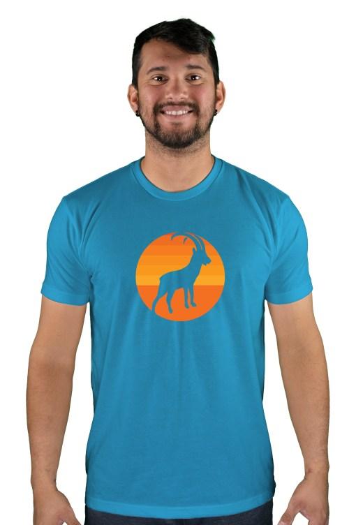 mens mtb tizi og turquoise t-shirt