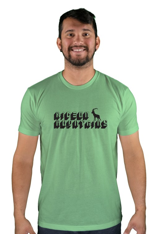 mens mtb digital apple green t-shirt