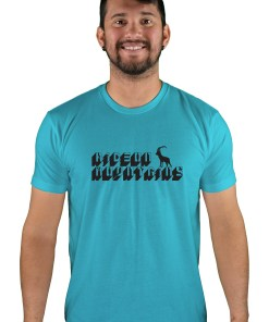 mens mtb digital bondi blue t-shirt