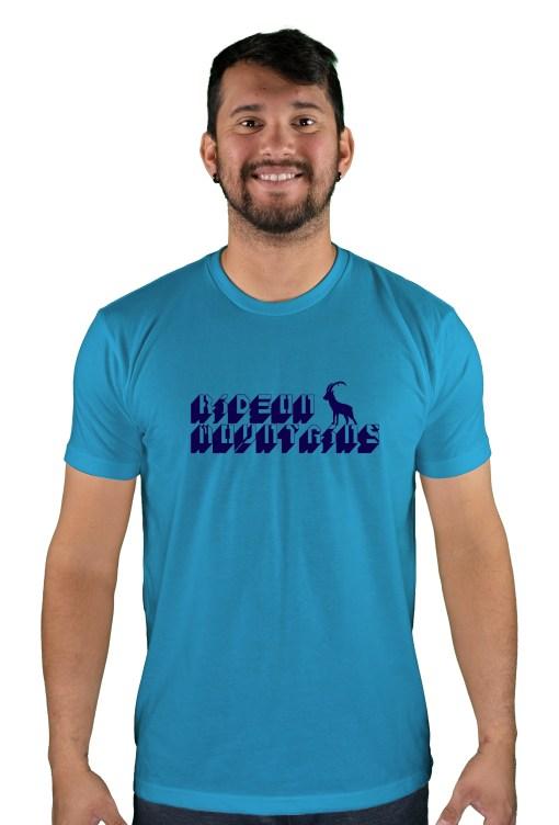 mens mtb digital turquoise t-shirt