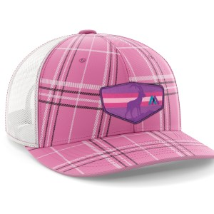 Tizi Sunset Pink Plaid