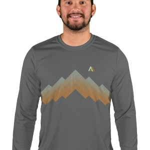 long sleeve arizona trail mens mountain bike jersey
