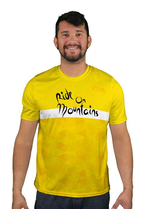 short sleeve col d aspin mens mountain bike jersey