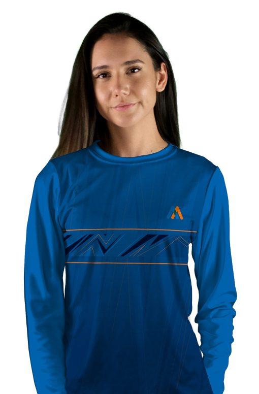 womens long sleeve dutch oven mtb jersey