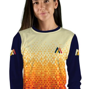 womens long sleeve hiline mtb jersey