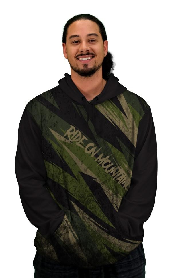 crocodylia hoodie