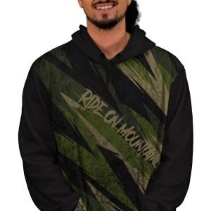 crocodylia mtb hoodie