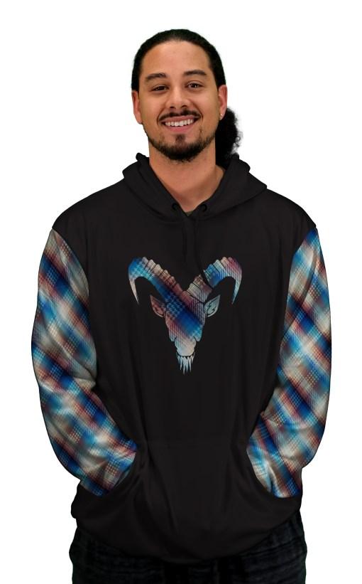 midnight stroll mtb hoodie