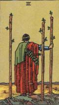 3 of Wands