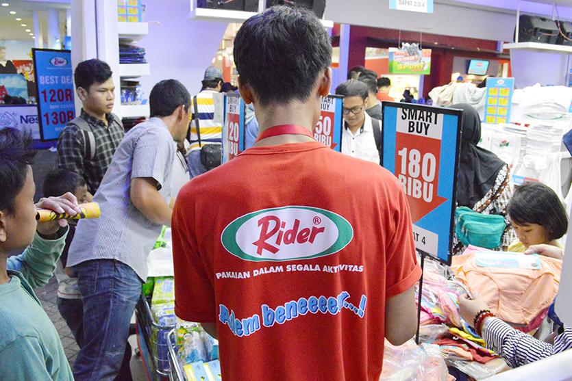 PRJ Kemayoran 2018 Rider Event Booth