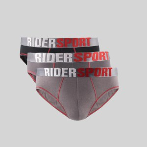 Rider Sport Brief Pria R337B Multiwarna Box 3 in 1