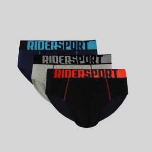Rider Sport Mini Brief Pria R916B Multiwarna 3 in 1