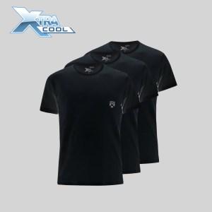 Rider Xtracool R886BWH Tshirt Kerah Bulat Isi 3 Pcs