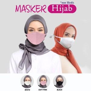 Rider Masker Hijab Anti Bakteri (Isi 50 pcs)