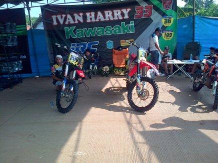 Paddock Husqvarna Motocross Championship Indonesia 2015