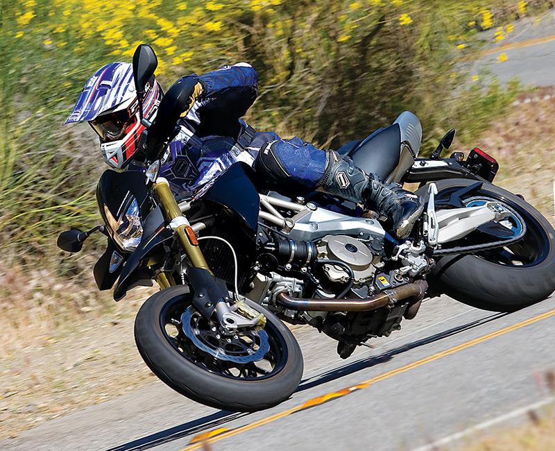 2009 Aprilia Smv750 Dorsoduro Road Test Rider Magazine