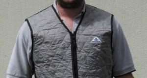 Techniche-Hyperkewl-Vest-on-Greg