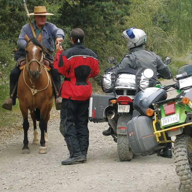 Tierra del Fuego, asking directions