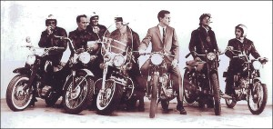 San Francisco Motorcycle Club in the 1960's.