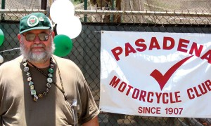 Paul Barber, Prez of the Pasadena MC.