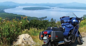 Maine Motorcycle Touring: Height of Land Overlook