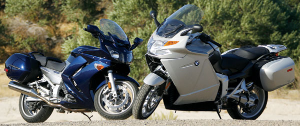 2006 Bmw K1200gt Vs Yamaha Fjr1300a Comparison Rider