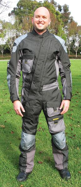 Rider Magazine Gear Review Joe Rocket Survivor Suit