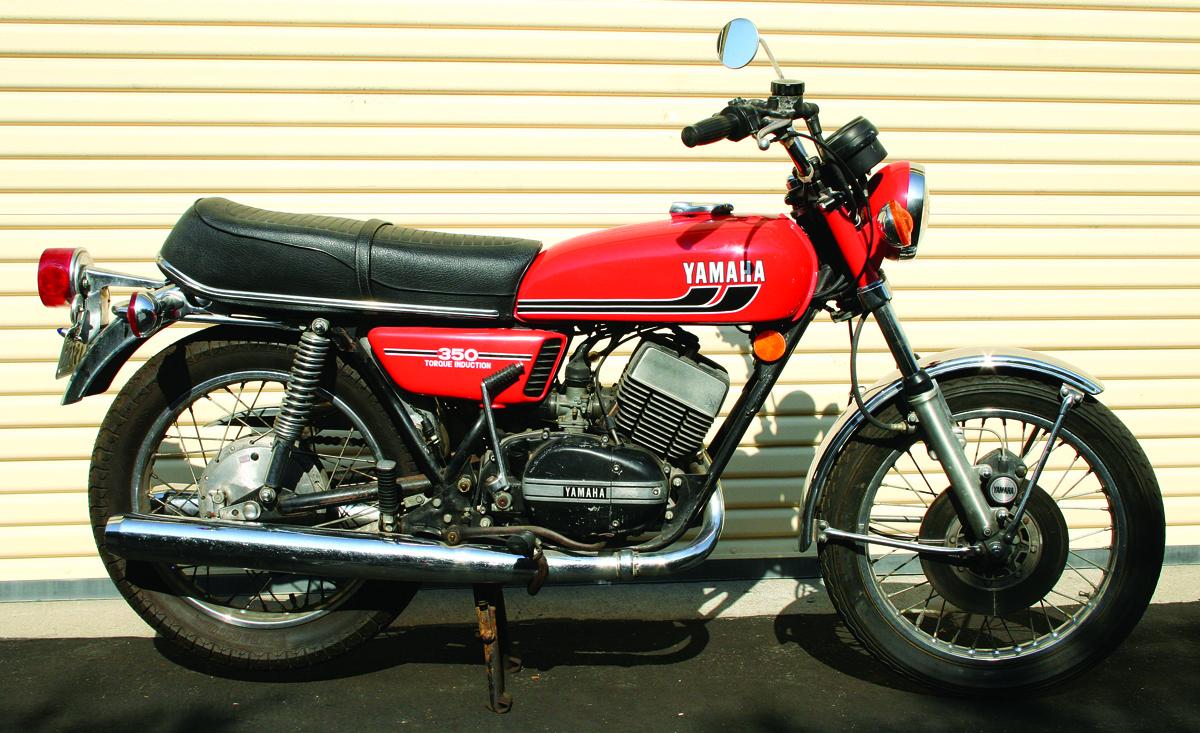 Yamaha rd350 1973 1975 rider magazine rider magazine for Yamaha motorcycle parts store