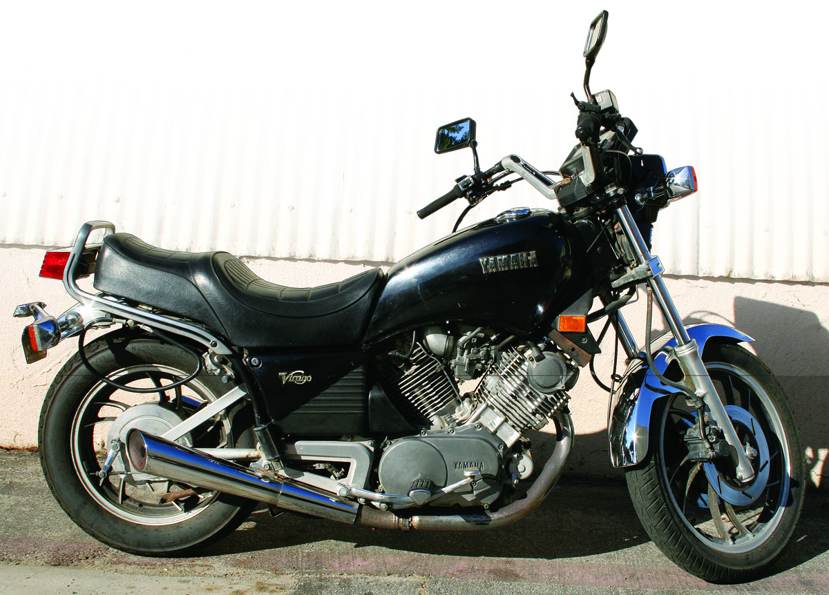 Retrospectove Yamaha Xv920 Virago 1982 1983 Rider