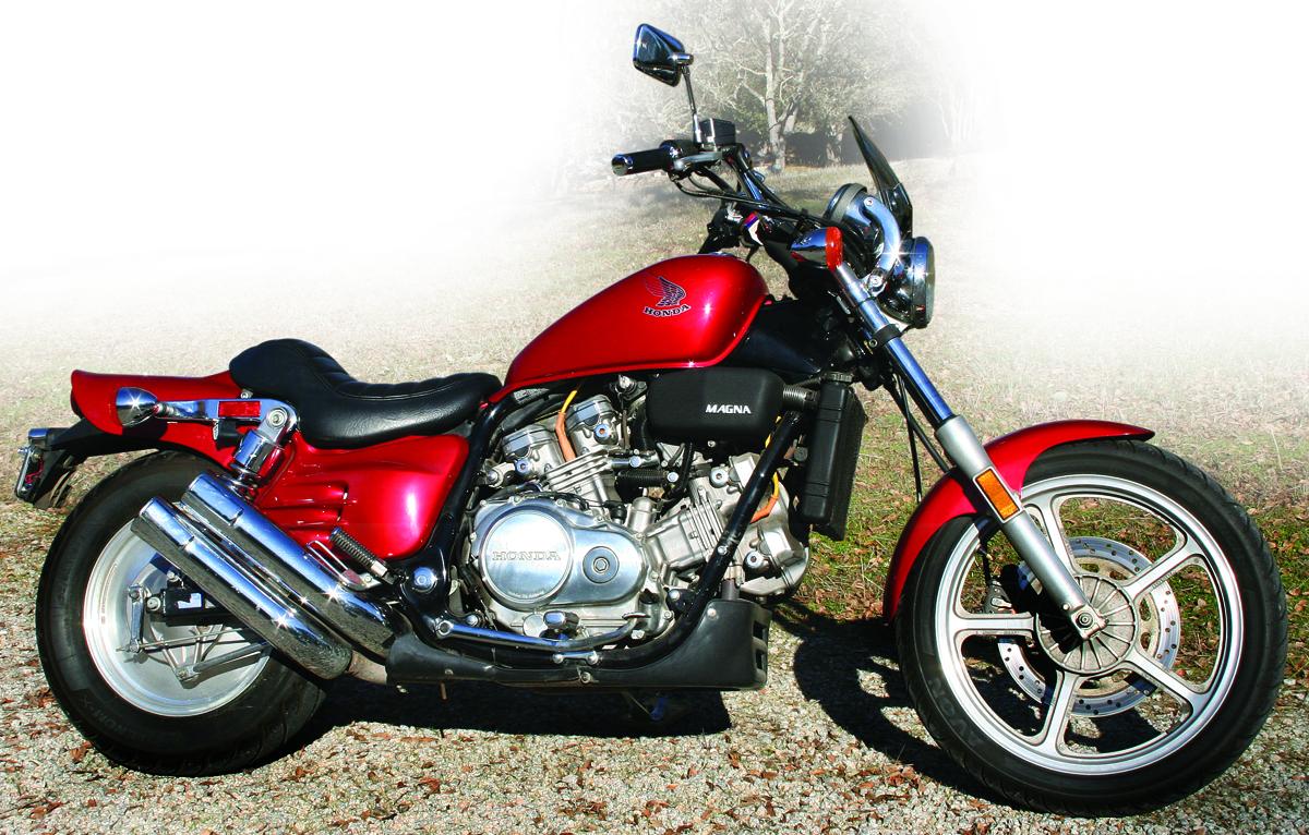 honda vfc magna  rider magazine rider magazine