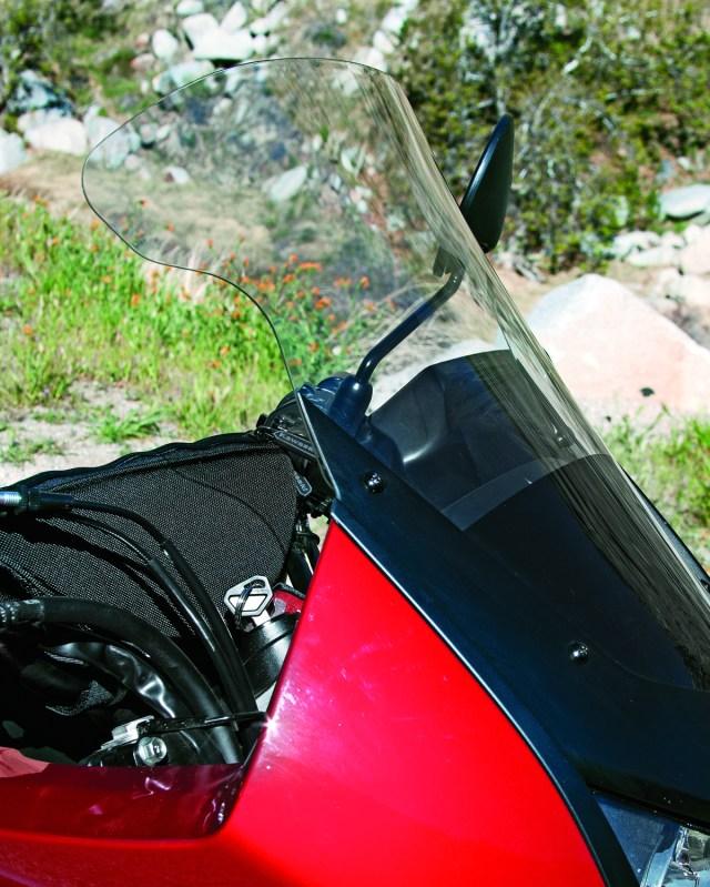 Kawasaki Genuine Accessories Tall Windscreen for the KLR650