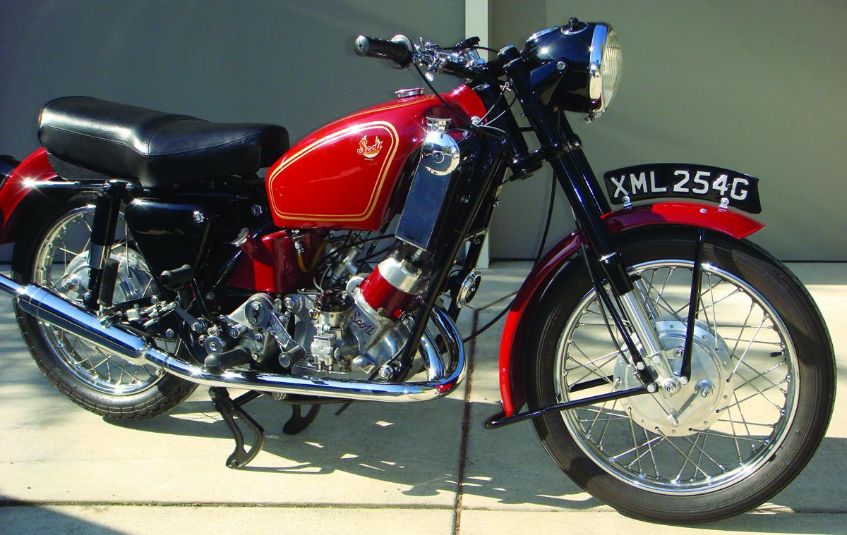 Quot Brum Quot Scott Flying Squirrel 600 1954 1972 Rider