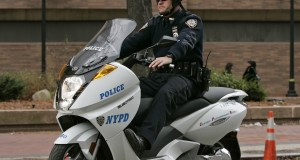 NYPD GREEN SCOOTER