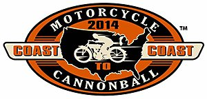 Motorcycle Canonball Run 2014