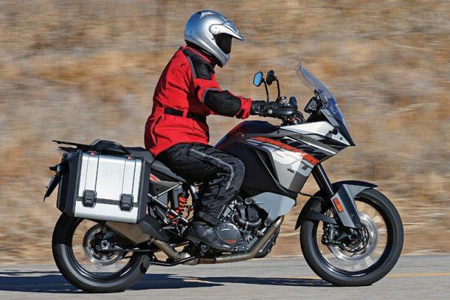 KTM 1190 Adventure seat windscreen