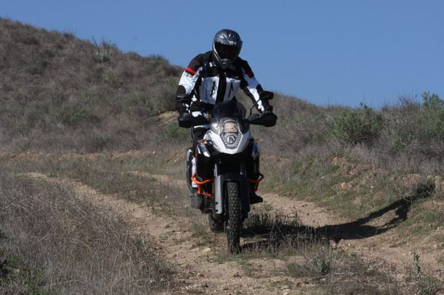 The 1190 Adventure R has an Off-Road riding mode (engine, traction control) and an Off-Road ABS mode.