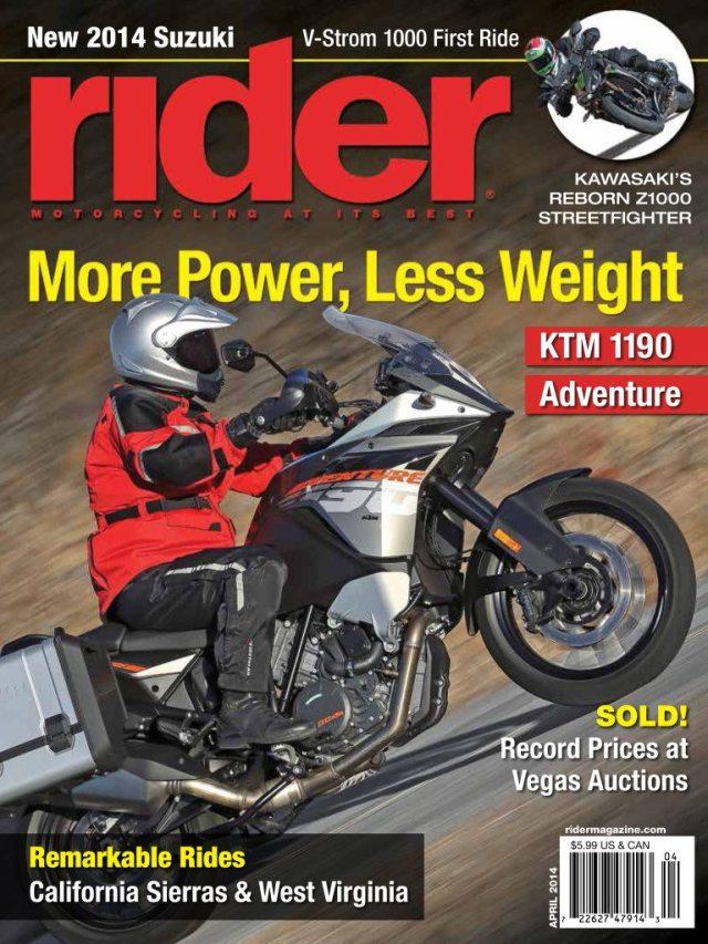 Rider April 2014