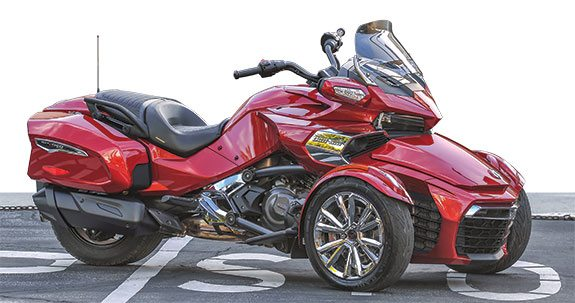 2016 can am spyder f3 limited road test review rider magazine rider magazine. Black Bedroom Furniture Sets. Home Design Ideas