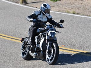 The XDiavel offers 60 ergonomic combinations for the rider, with adjustable foot controls and accessory handlebars and seats.