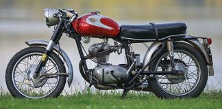 Year/Model: 1964 Ducati Monza Junior 160; Owner: Fritz Buehner, Lubec, Maine.