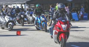 Suzuki will offer demo rides of its sport bikes, cruisers, street bikes and dual-sports at Road Atlanta. (Photo: Suzuki)