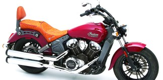 Corbin's Dual Touring Saddle for the Indian Scout