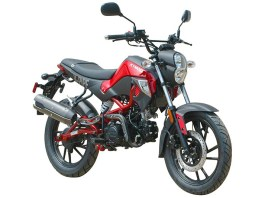 The 2016 Kymco K-Pipe 125 is a lightweight, affordable motorcycle for around-town riding.
