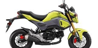 2017 Honda Grom in Bright Yellow