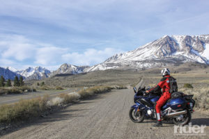 2016 Yamaha FJR1300ES, June Lake Loop, Sierra Nevada