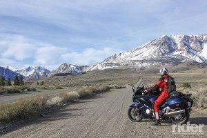 2016 Yamaha FJR1300ES, June Lake Loop, Sierra Nevada