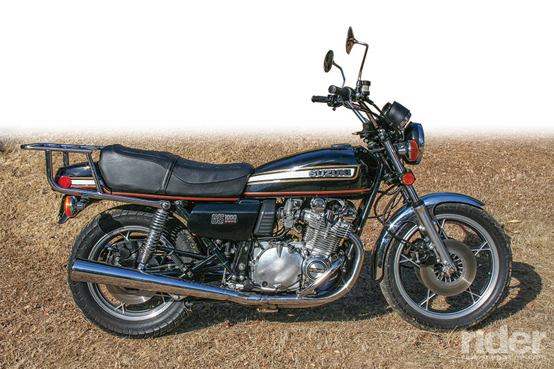 1978 1979 Suzuki Gs1000 Retrospective Rider Magazine